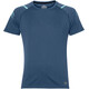 asics Icon SS Top Men Dark Blue Heather